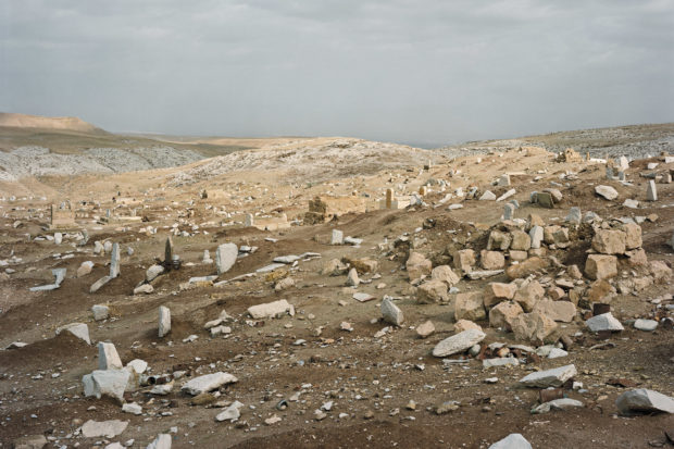 Nabi Musa, West Bank, January 19, 2010; photograph by Stephen Shore from the exhibition Stephen Shore, on view at the Museum of Modern Art, New York City, through May 28, 2018. The catalog is by Quentin Bajac, with contributions by David Campany, Kristen