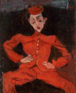 Chaïm Soutine: Bellboy, circa 1925