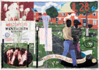 Kerry James Marshall: Better Homes, Better Gardens, 1994. Marshall's work will be on view in the exhibition 'Figuring History,' at the Seattle Art Museum, February 15–May 13, 2018.