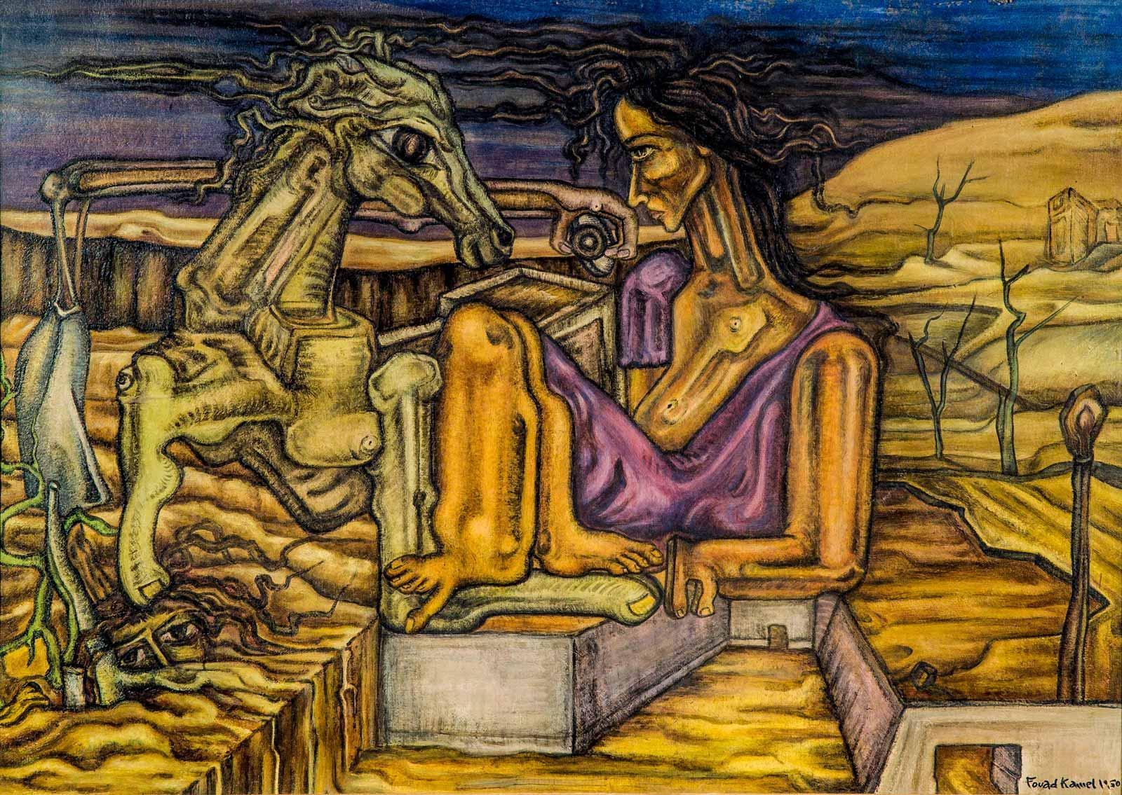 egypt-surrealism-kamel-nude