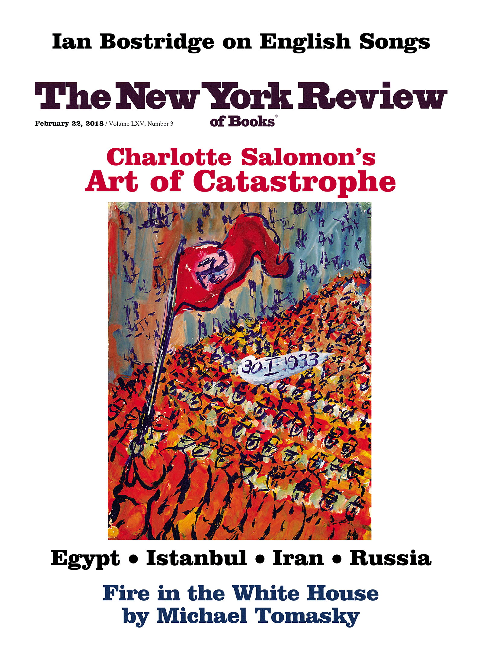 Table Of Contents February 22 2018 The New York Review Of Books