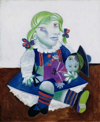 Pablo Picasso: Maya with a Doll, 1938
