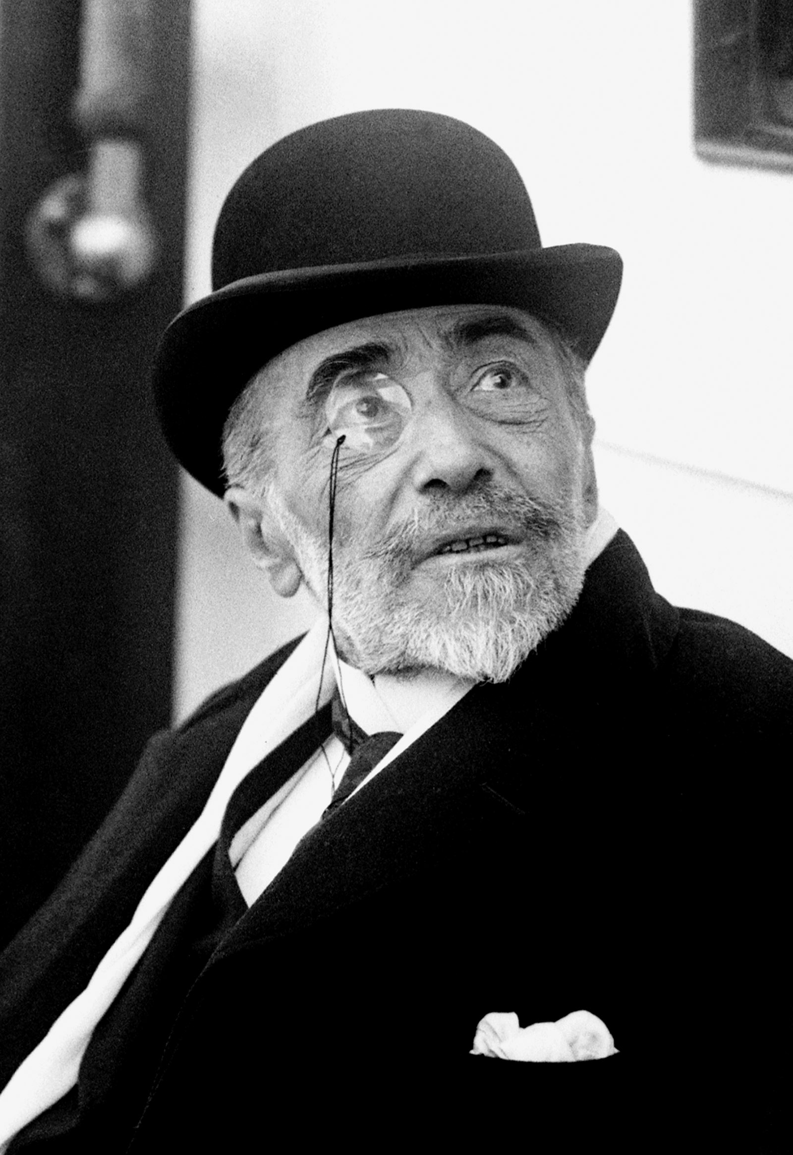 Joseph Conrad arriving in New York on the SS Tuscania, 1923