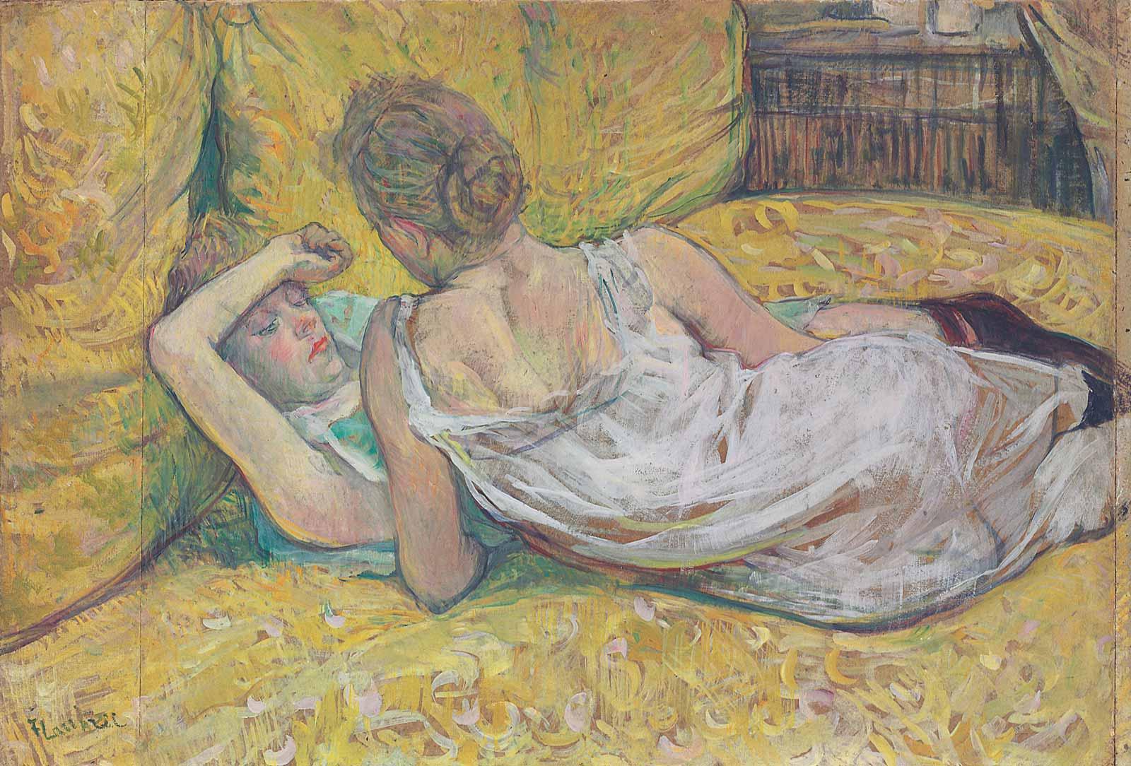 Henri de Toulouse-Lautrec: Abandonment (The Two Friends), 1895