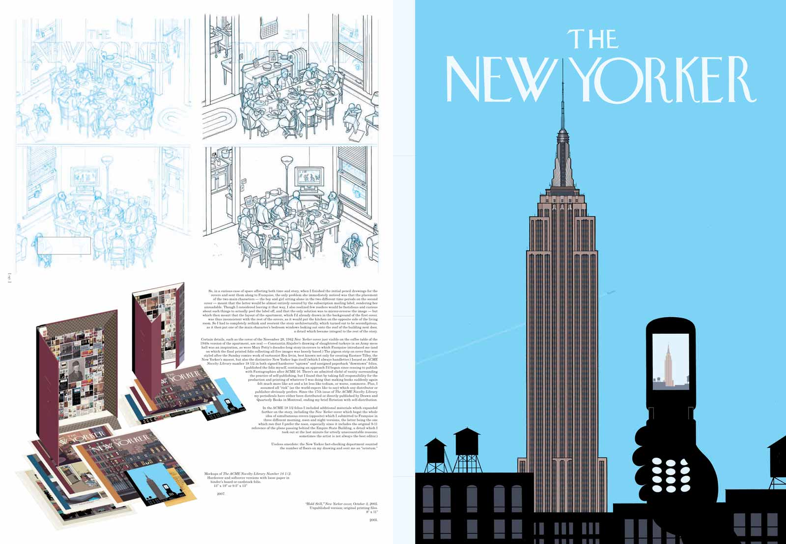 Being Chris Ware | by Sarah Boxer | NYR Daily | The New York Review ...