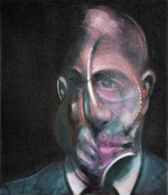 Francis Bacon: Portrait of Michel Leiris, 1976