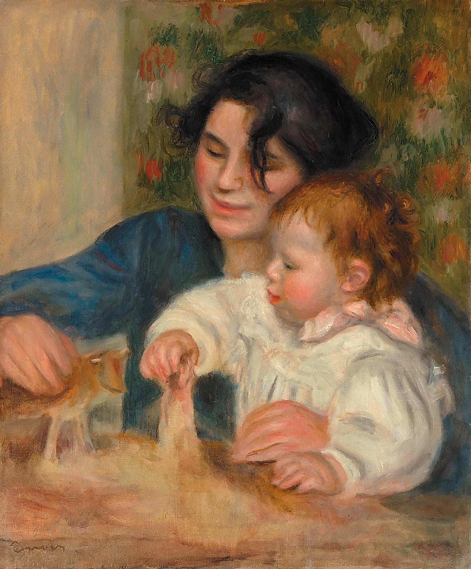 Auguste Renoir: Gabrielle and Jean, 1895–1896