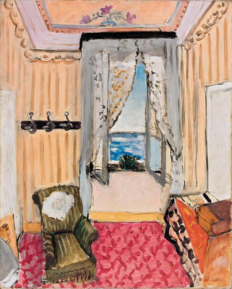 Henri Matisse: Interior at Nice (Room at the Beau Rivage), 1917–1918