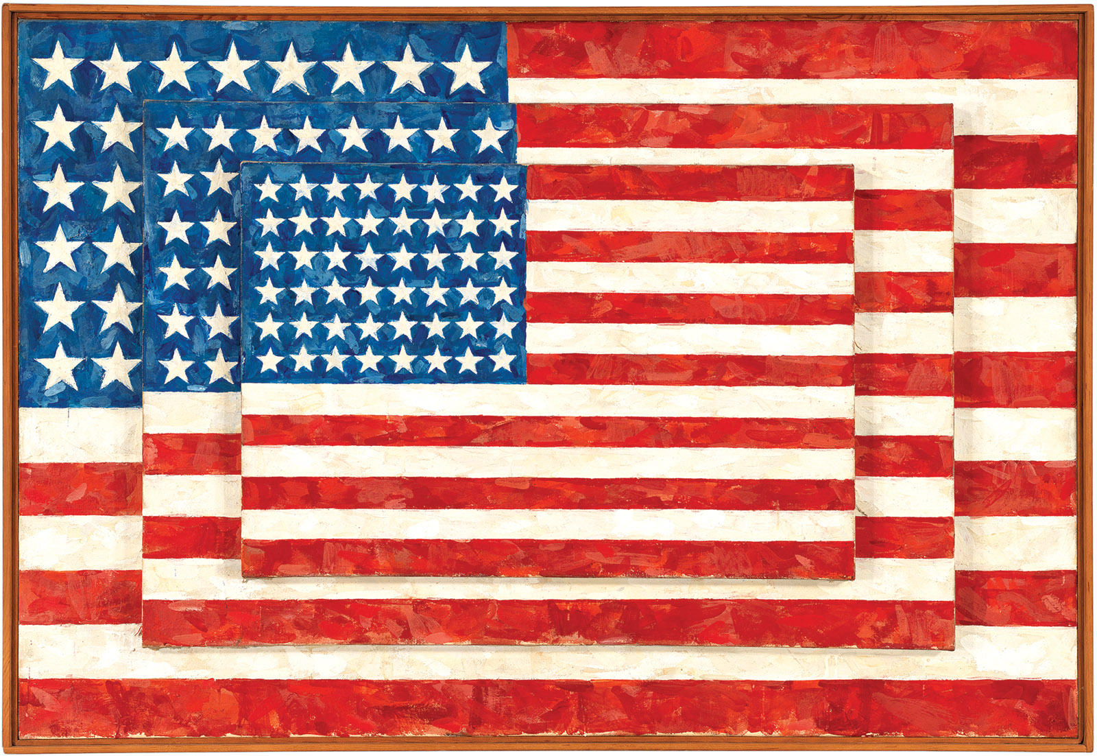 American Flag Art Painting