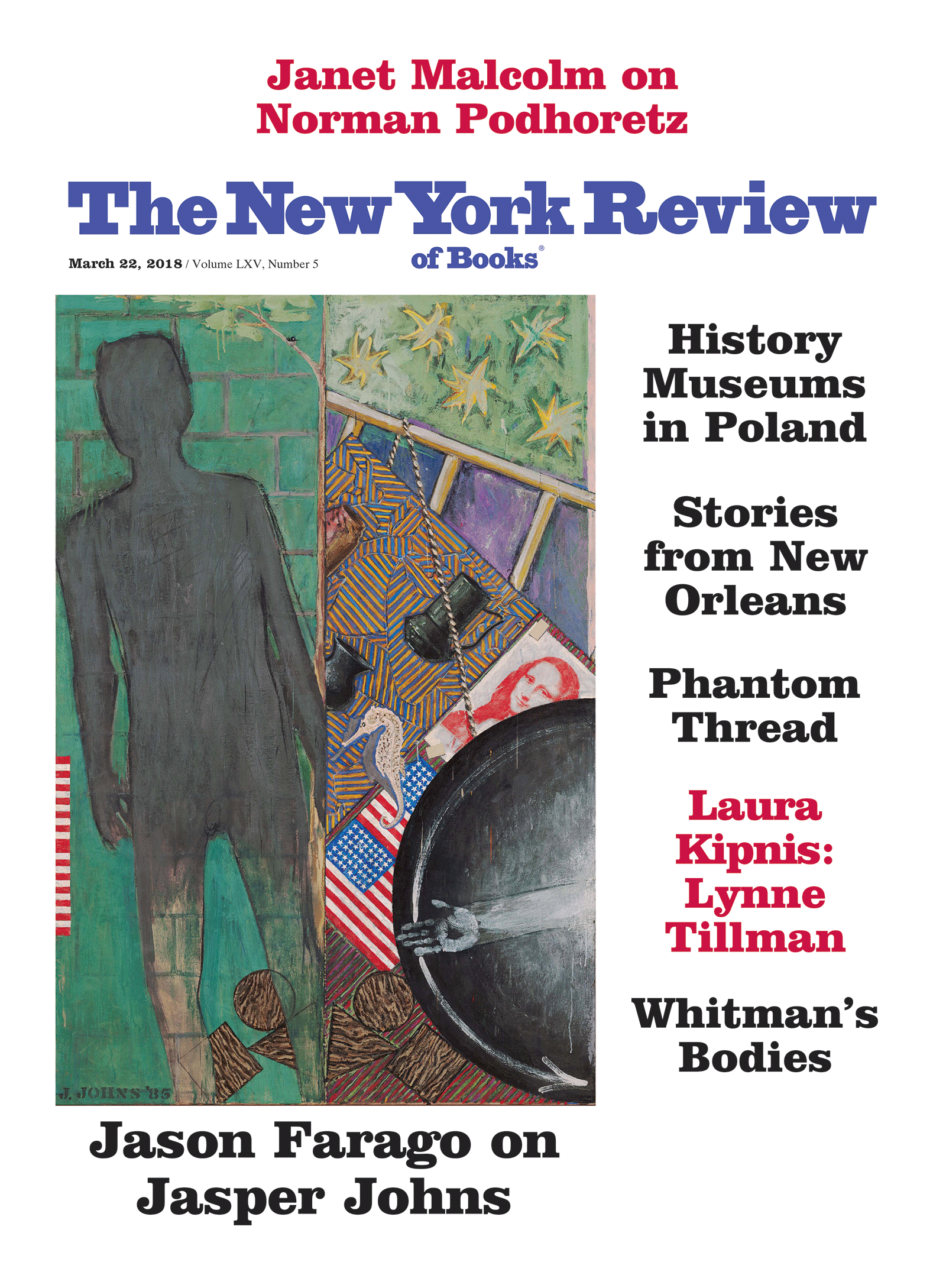 Image of the March 22, 2018 issue cover.