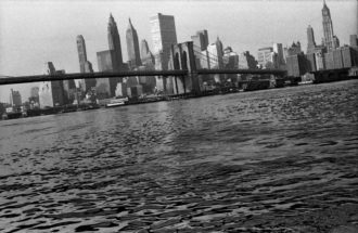 Photo by the artist Mario Schifano, New York City, 1960s