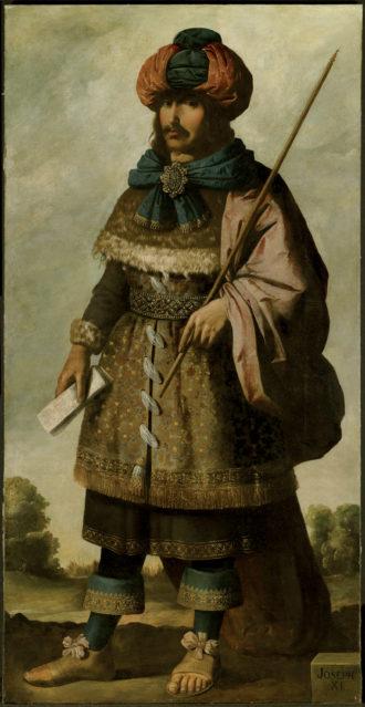 Francisco de Zurbarán: Joseph, circa 1640–1645
