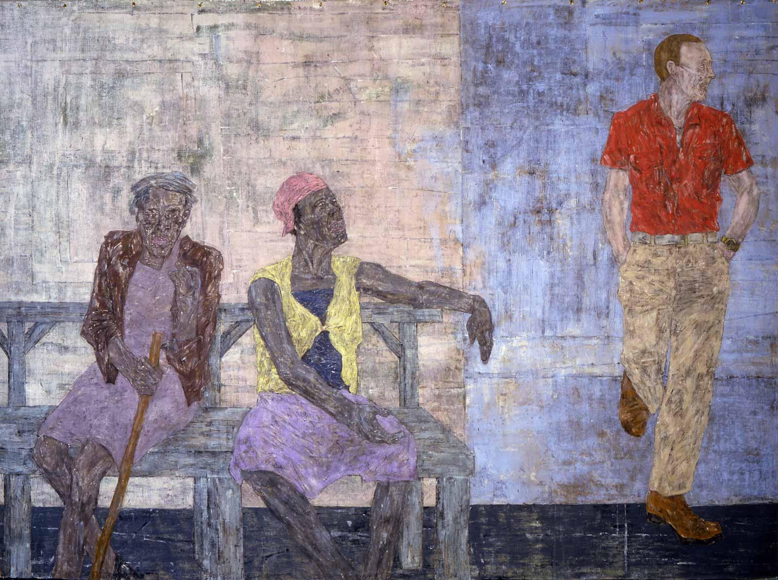 golub-two-black-women