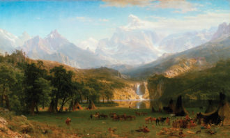 Albert Bierstadt: The Rocky Mountains, Lander's Peak, 1863