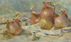 Pierre-Auguste Renoir: Onions, 1881
