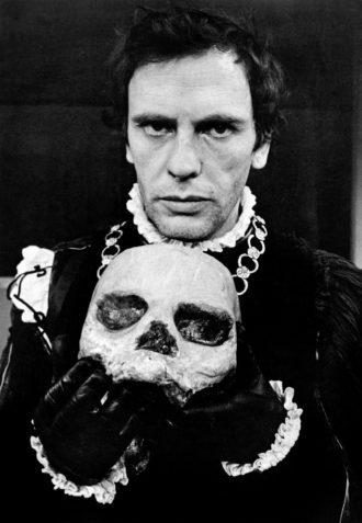 Jean-Louis Trintignant in the role of Hamlet, at the Théâtre de la Musique, Paris, 1971