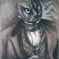 Alberto Savinio: Self-Portrait as an Owl, 1936