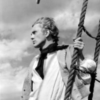 Terence Stamp in Peter Ustinov's film adaptation of Billy Budd, 1962