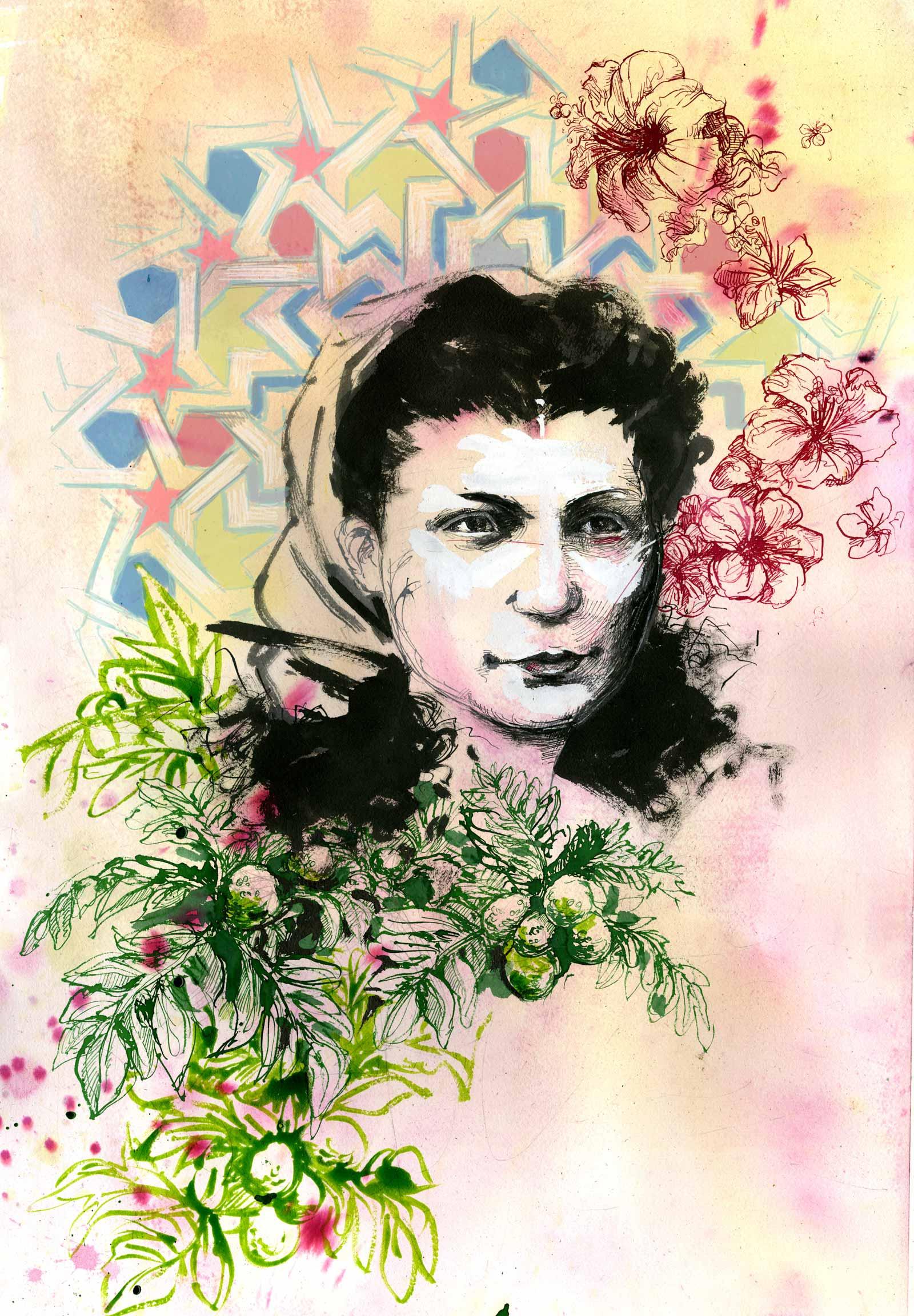 Portrait of Julia de Burgos