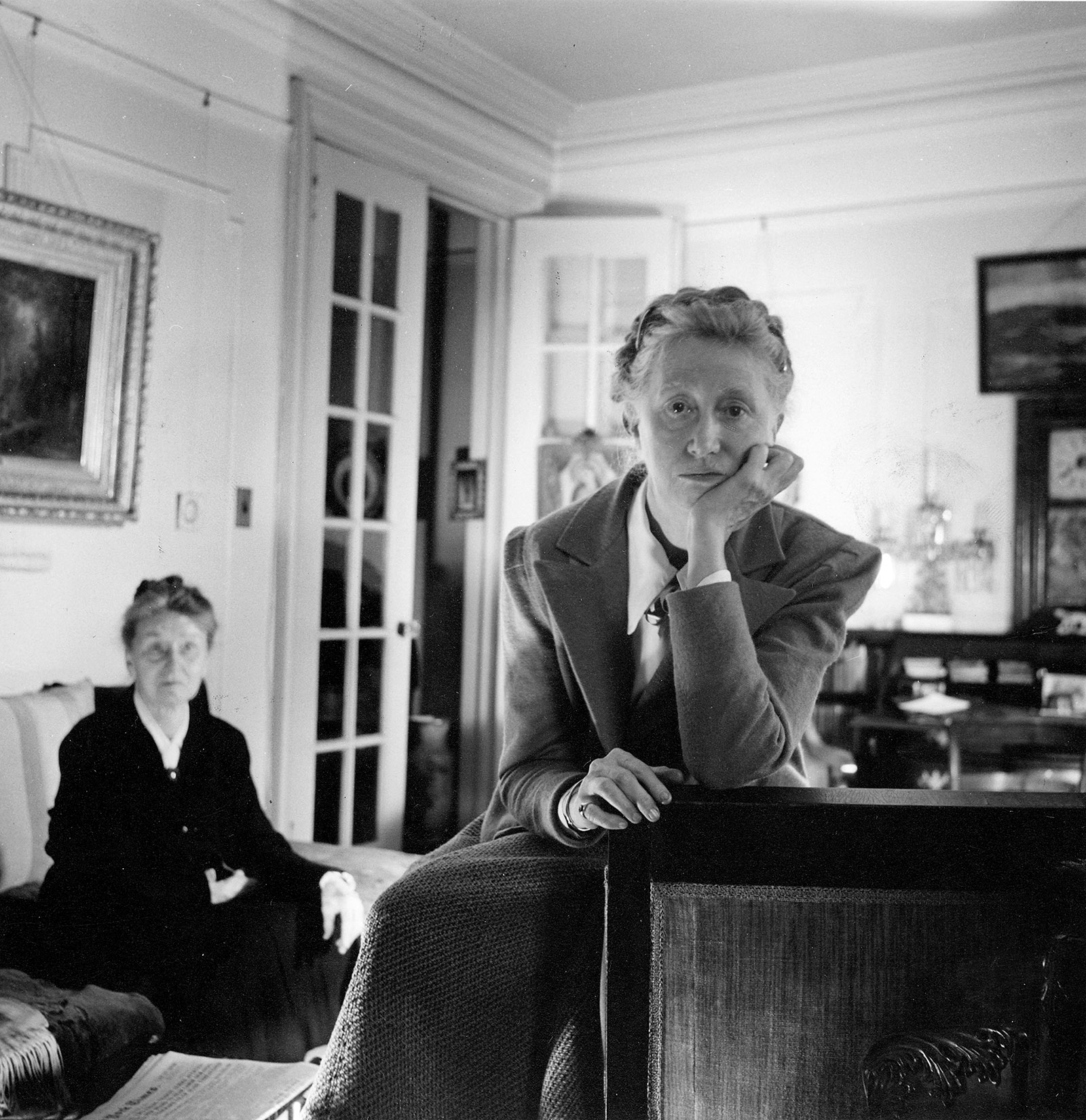 Marianne Moore and her mother, Mary Warner Moore, Brooklyn, 1946; photograph by Cecil Beaton