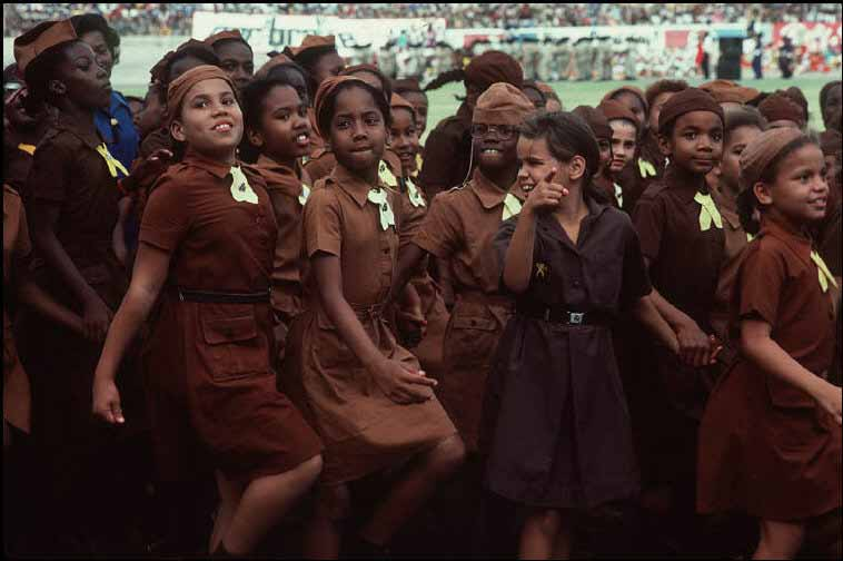 Girl Scouts, Kingston, Jamaica, 1983