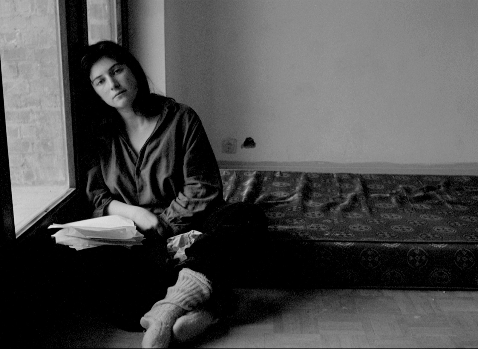 Chantal Akerman in her film Je tu il elle, 1974