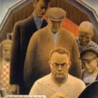 Grant Wood: The Return from Bohemia, 1935