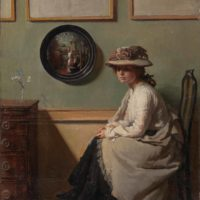 William Orpen: The Mirror, 1900