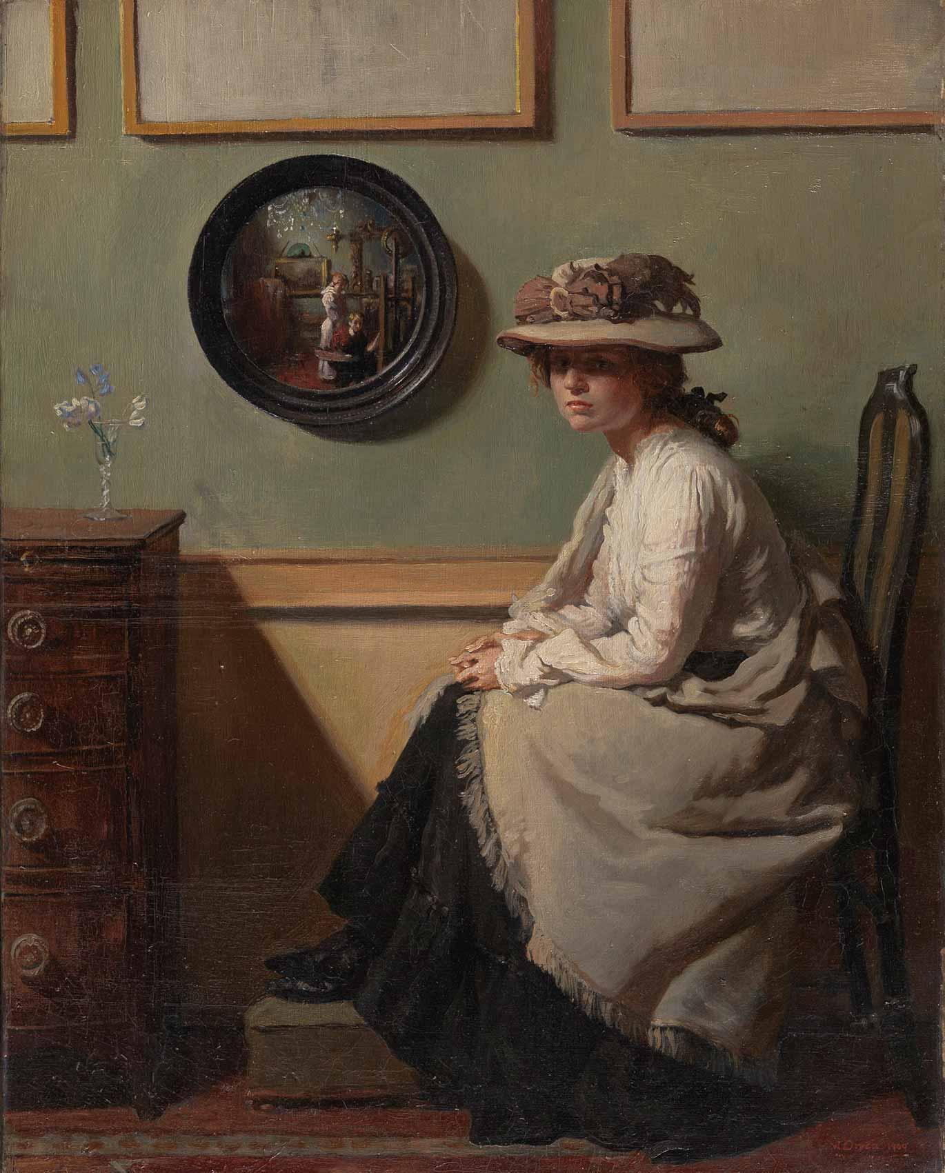 Victorian British Painting: Augustus Edwin Mulready  Victorian Painting Portrait Artists