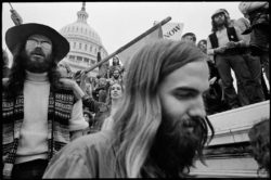 A demonstration against the Vietnam War, Washington, D.C., 1972