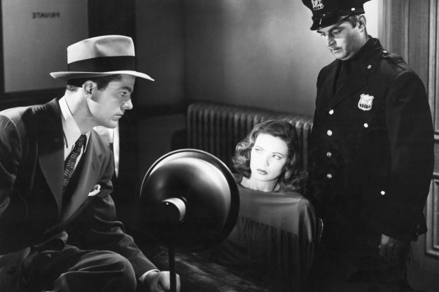 Dana Andrews and Gene Tierney in <i>Laura</i>, 1944