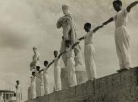 The Stadium Mussolini in Rome, Italy, 1934
