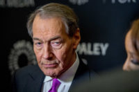 Charlie Rose attending a media function in New York City on November 1, 2017. Three weeks later, CBS and PBS cut their ties with the TV host after a number of women went public with accusations against him of sexual harassment and misconduct at work