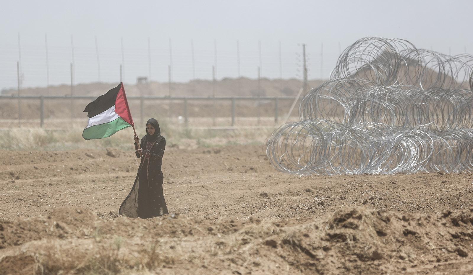 Risultati immagini per gaza protests