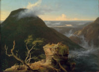 Thomas Cole: View of the Round-Top in the Catskill Mountains, 1827