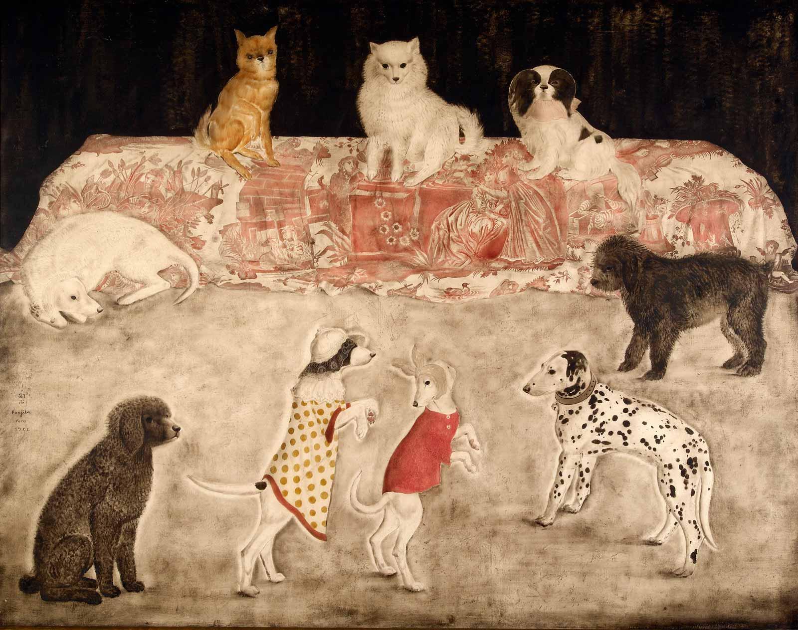 foujita-carnaval-chiens