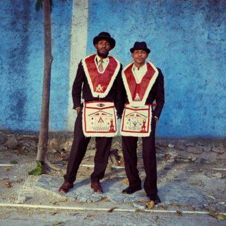 Leah Gordon: LogeL'AmitiédesFrères Réunis#1, Port-au-Prince, 2015
