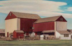 Charles Sheeler: Bucks  County  Barn,  1940