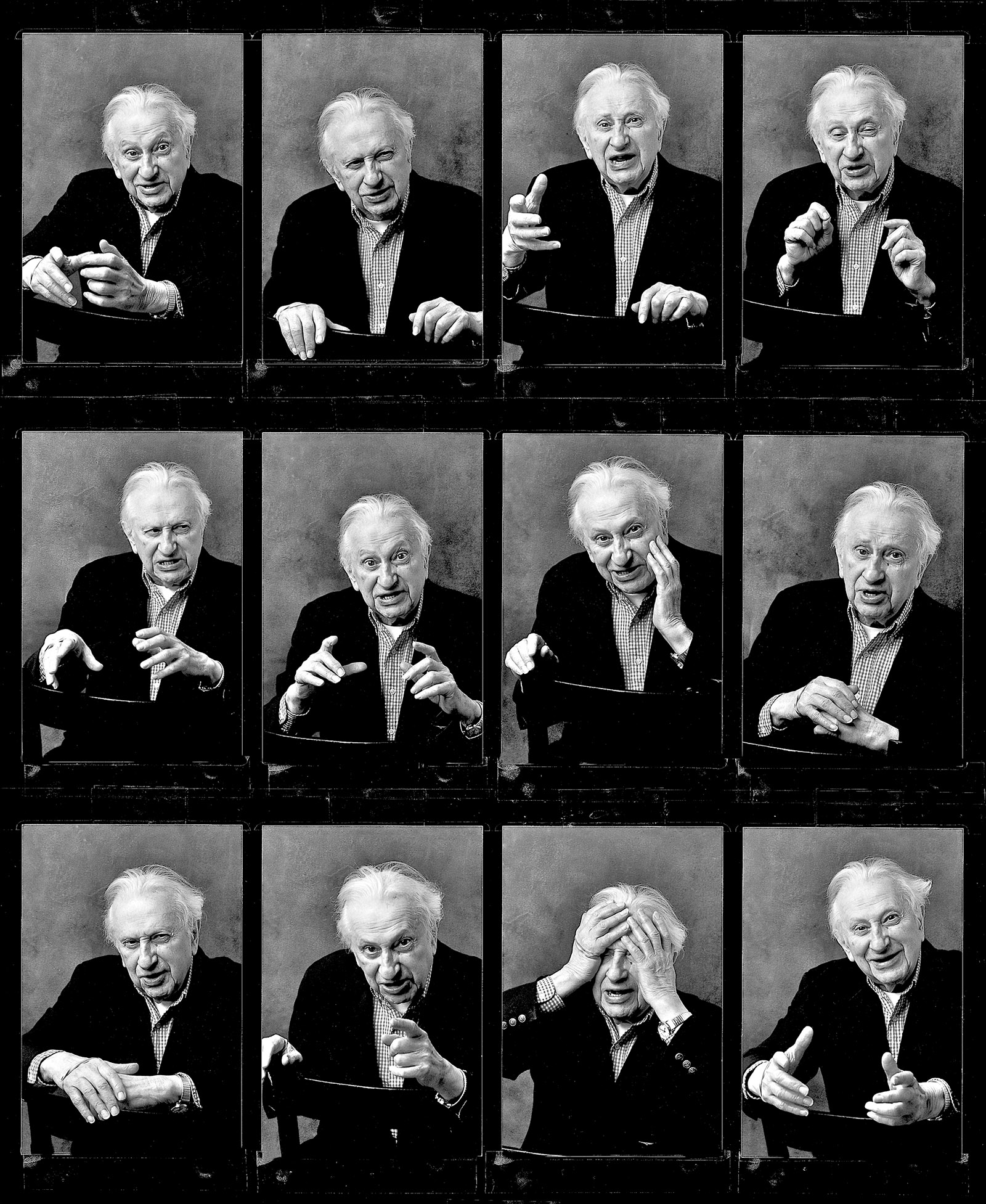 Studs Terkel, 2004; photographs by Nancy Crampton