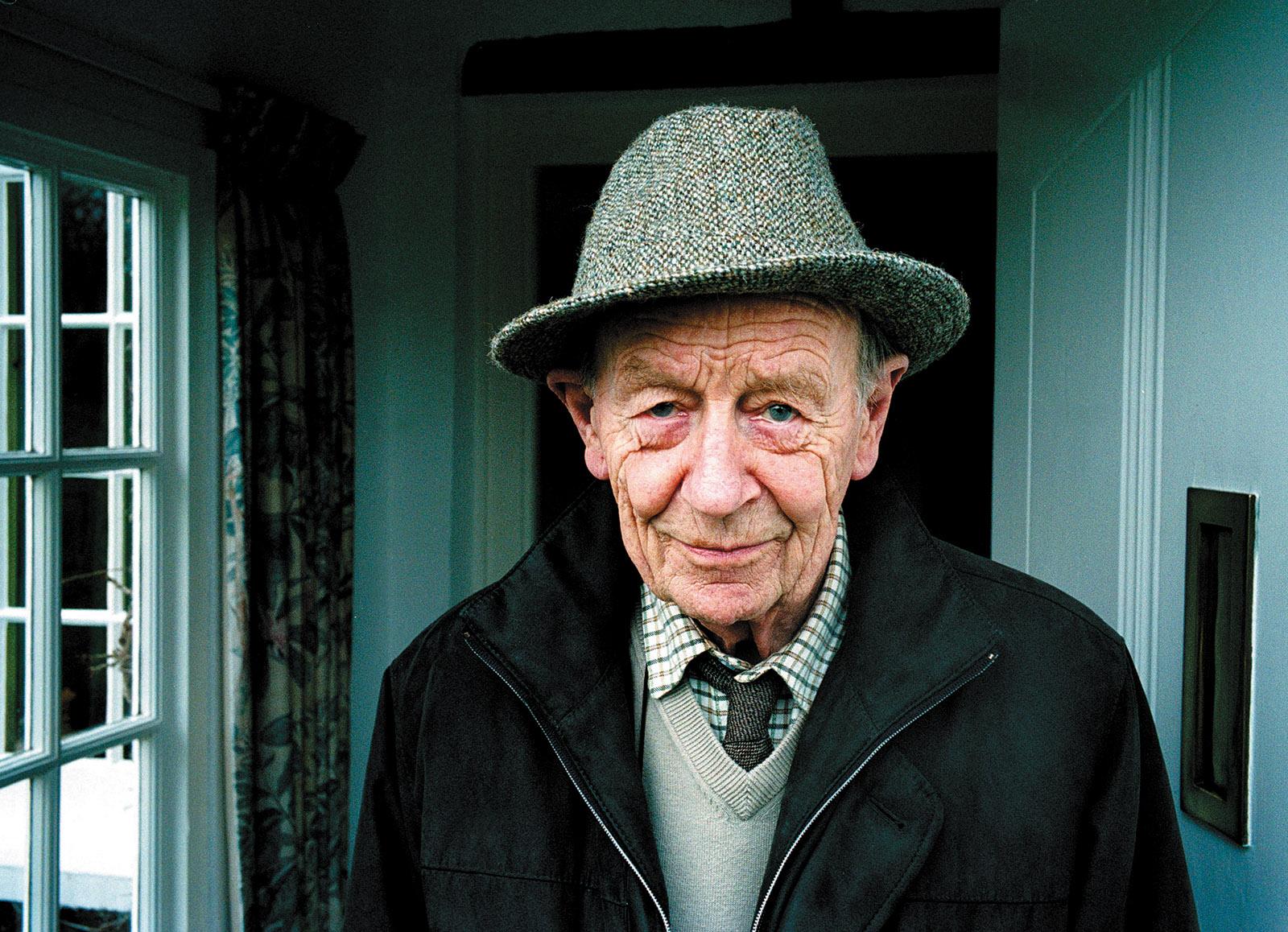 William Trevor, Devon, England, 2009
