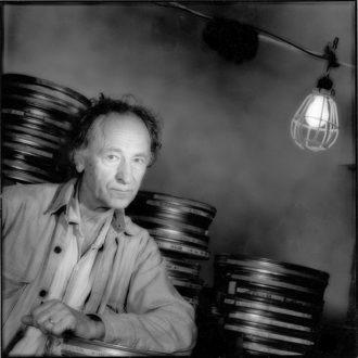 Jonas Mekas at Anthology Film Archives, New York City, 1987