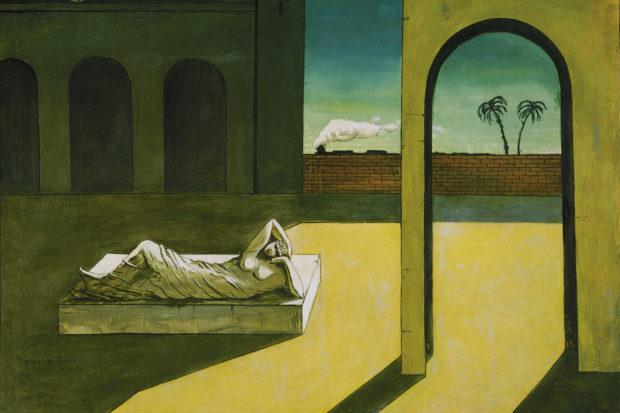Giorgio de Chirico: <i>The Soothsayer's Recompense</i>, 1913
