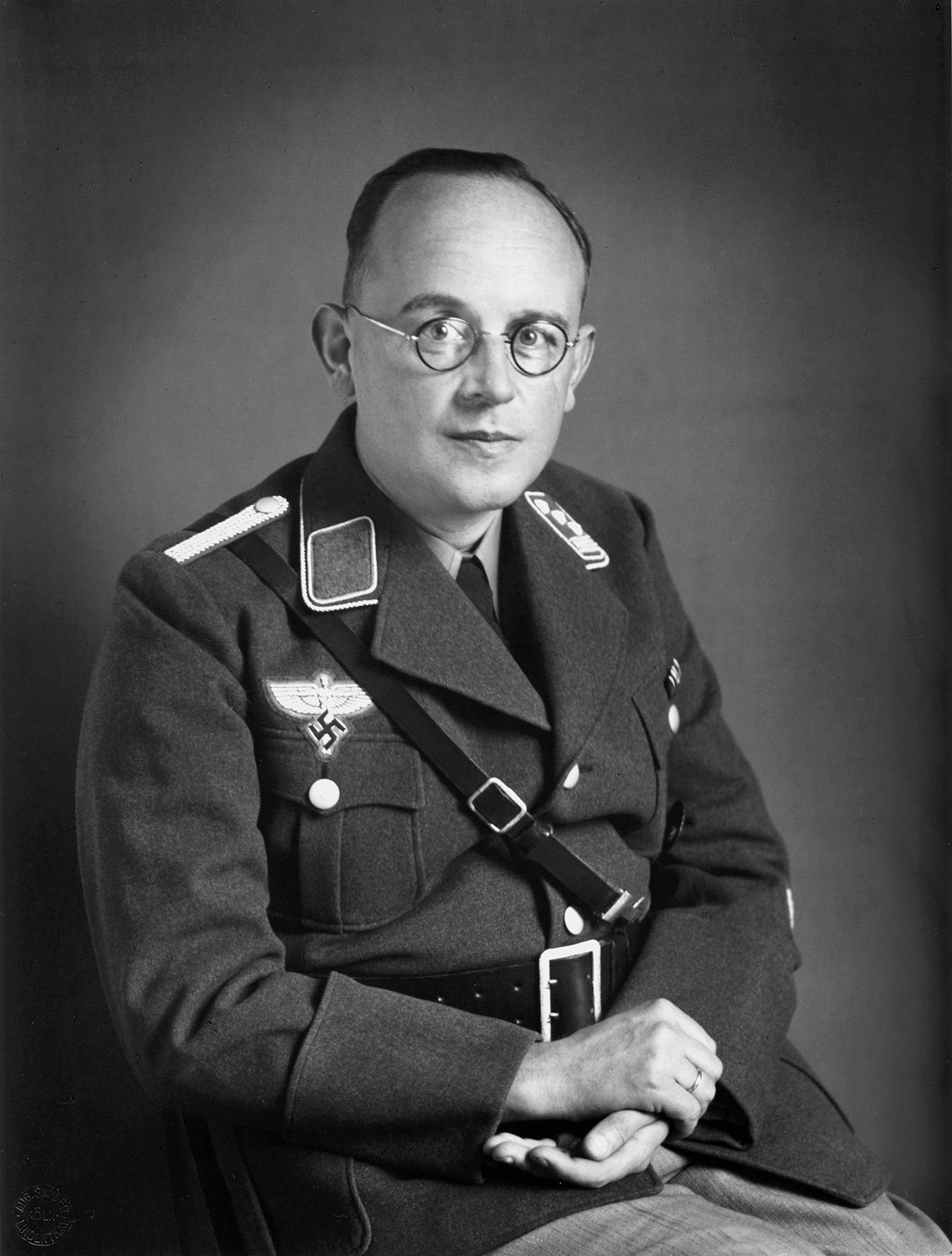 'National Socialist,' circa 1935; photograph by August Sander from his People of the Twentieth Century. A new collection of his portraits, August Sander: Persecuted/Persecutors, will be published by Steidl this fall.