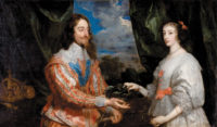 Anthony van Dyck: Charles I and Henrietta Maria Holding a Laurel Wreath, 1632