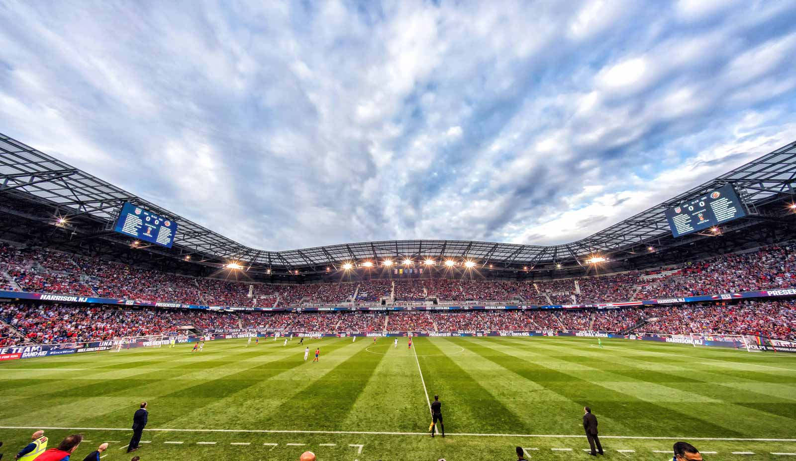 The 2018 FIFA World Cup qualifying match between the United States and Cost Rica, Red Bull Arena, Harrison, New Jersey, September 2017