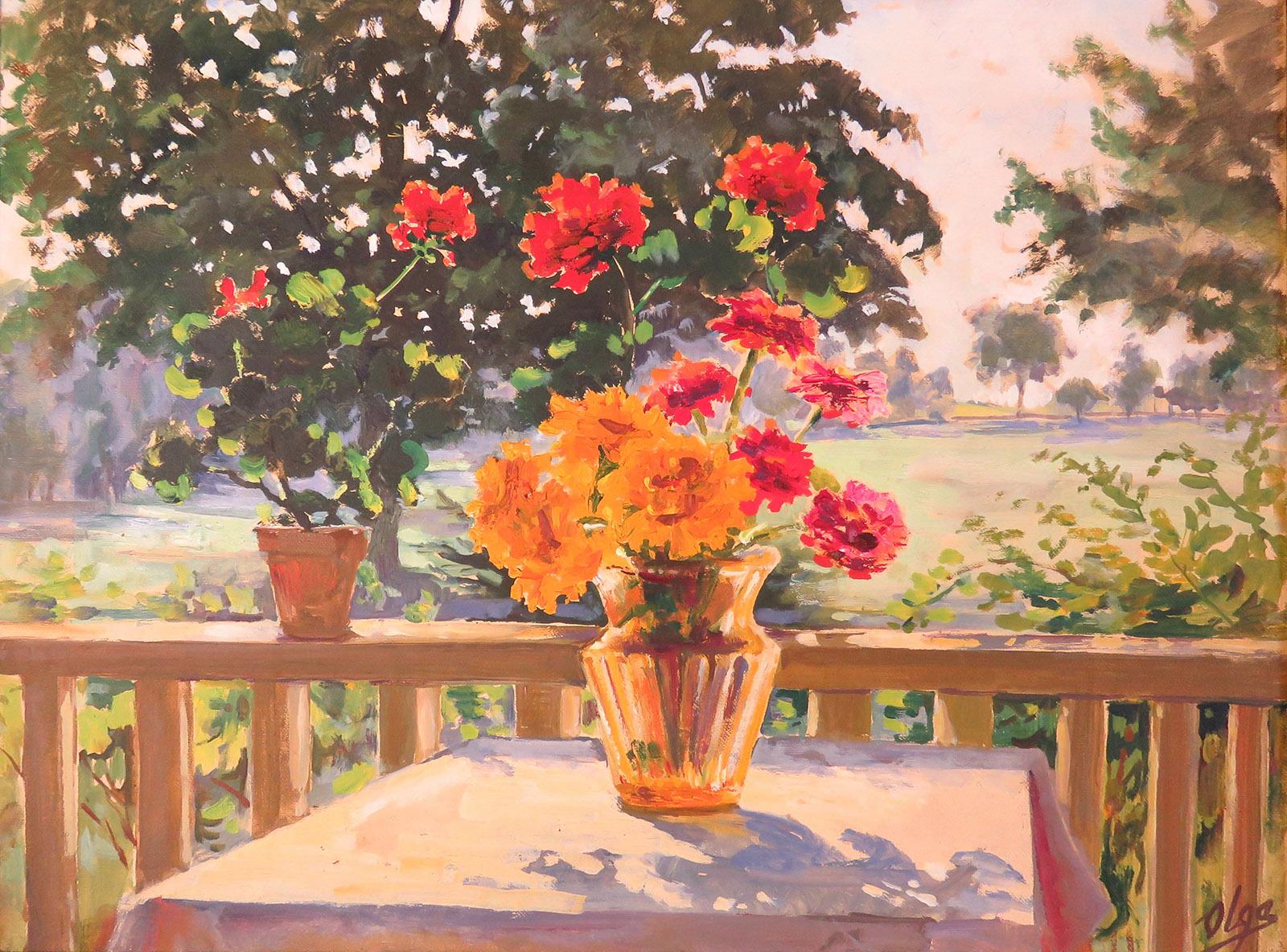 10. Olga FLowers In A Vase
