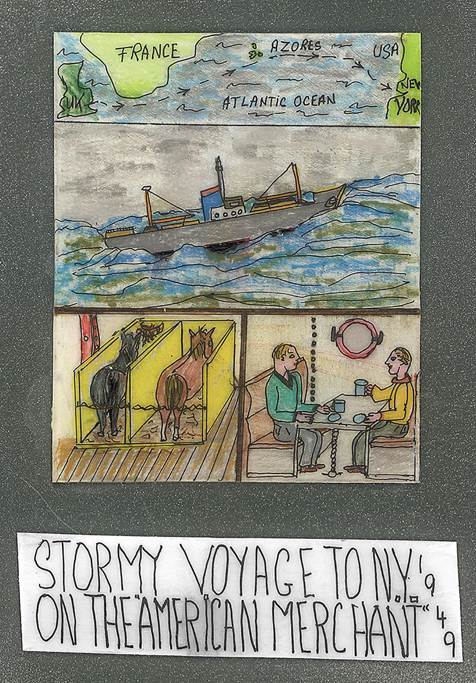 27. stormy voyage