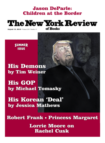 Image of the August 16, 2018 issue cover.