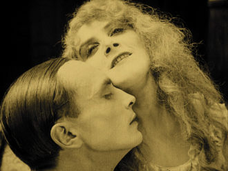 Conrad Veidt and Lillebil Christensen in Urban Gad's Christian Wahnschaffe, 1920–1921