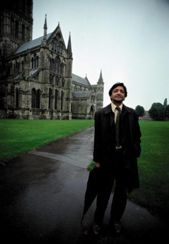 V.S. Naipaul, Salisbury, Wiltshire, England, 1981